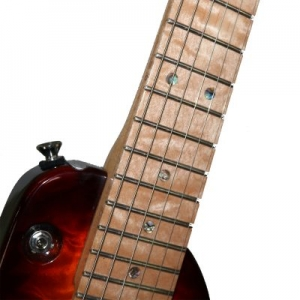 Rambler Custom Travel Guitar - Quilted Maple Fretboard