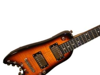 Rambler Classic Electric Travel Guitar - Tobacco Sunburst
