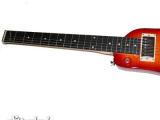 Strobel Rambler Travel Guitar - Cherry Sunburst