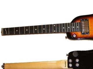 Strobel Travel Electric Guitars - Tobacco Sunburst