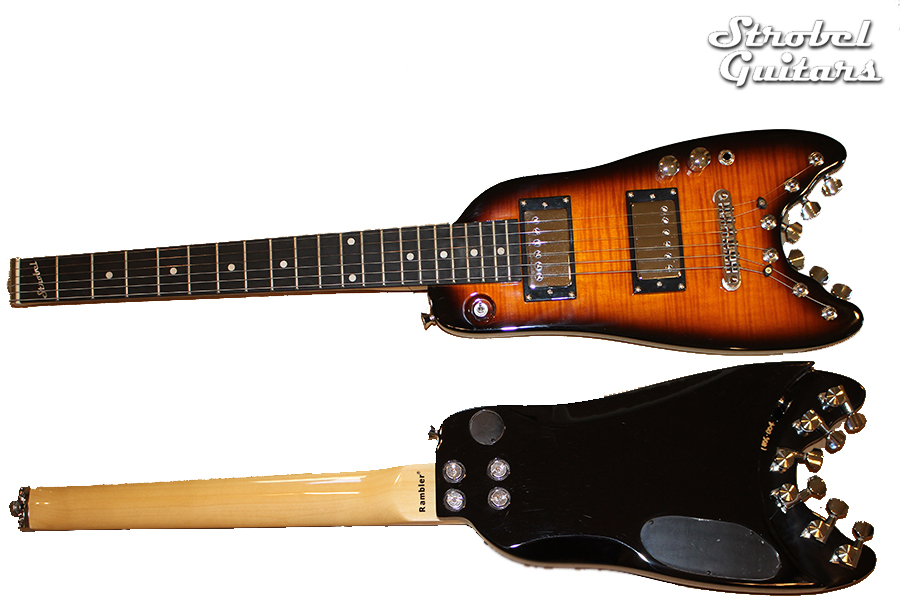 Strobel Travel Electric Guitars - Tobacco Sunburst