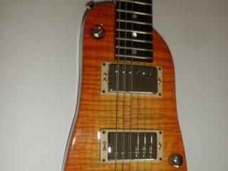 Strobel Rambler Electric Travel Guitar - Tangerine Burst